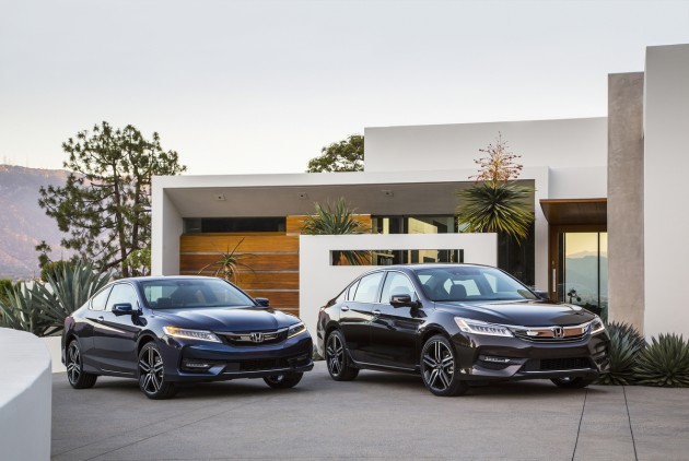 2016 Honda Accord Sedan Touring and Accord Coupe Touring
