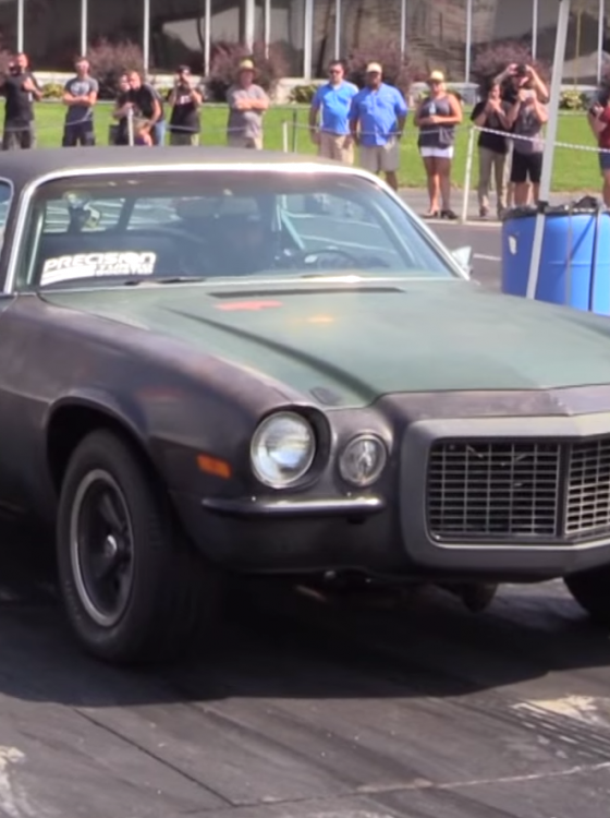 Quot Junk Quot 1970 Chevy Camaro Embarrasses Porsche 918 At Track