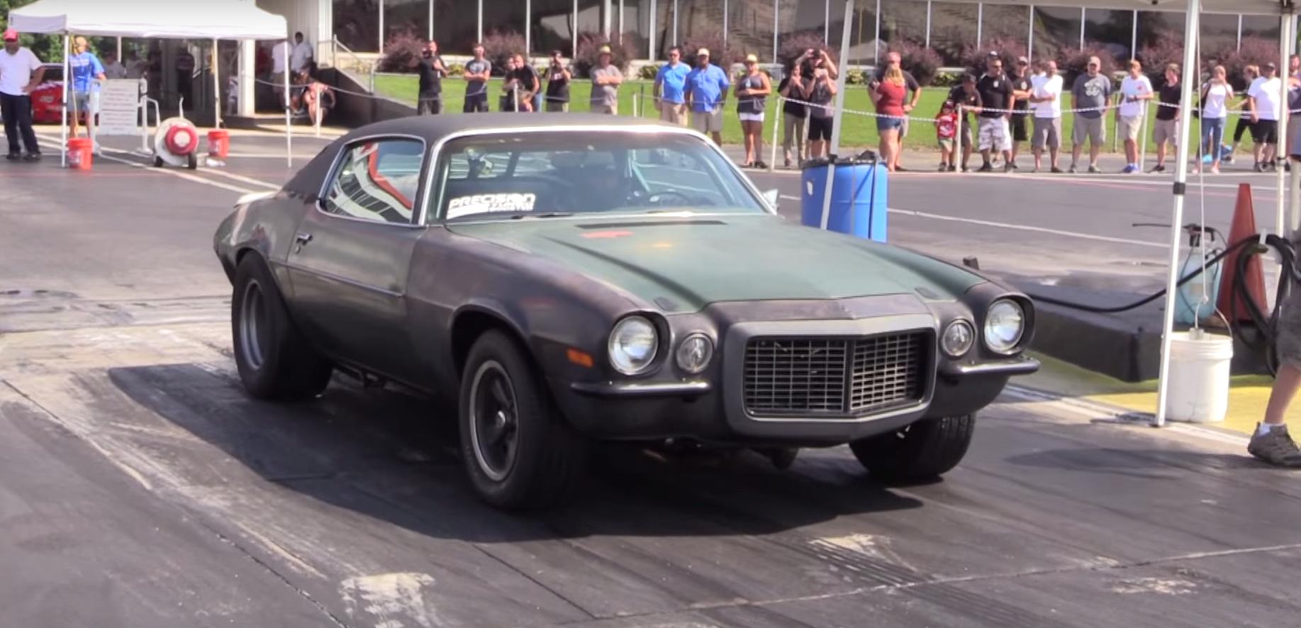 1970 Chevy Camaro Junk | The News Wheel