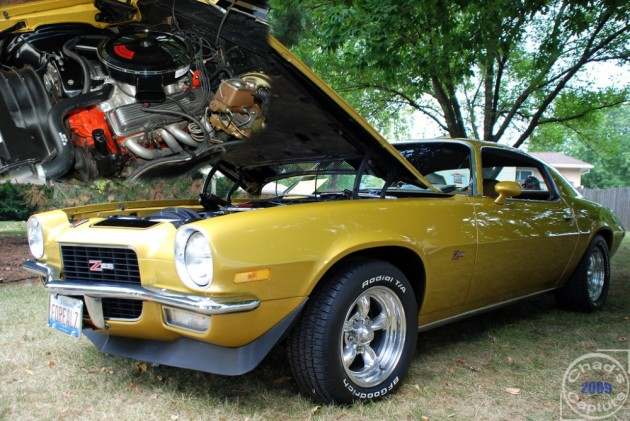 1972 Chevy Camaro Z28 Belonging to Papa John's Founder Stolen in Detroit