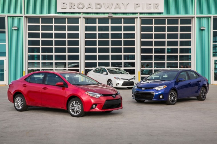 2014-2016 Toyota Corolla kbb.com 5 year cost of ownership awards