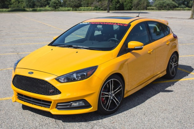 Ford Boosts 2015 Focus ST to 275 Horsepower with mountune Performance