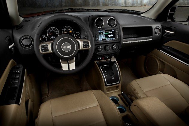 2015 Jeep Patriot Dashboard