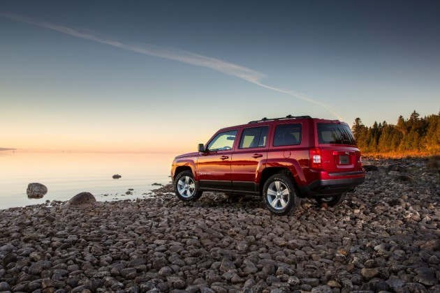 2015 Jeep Patriot Rear End
