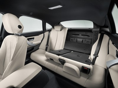 2016 BMW 4 Series Interior Back Seats Folded Flat