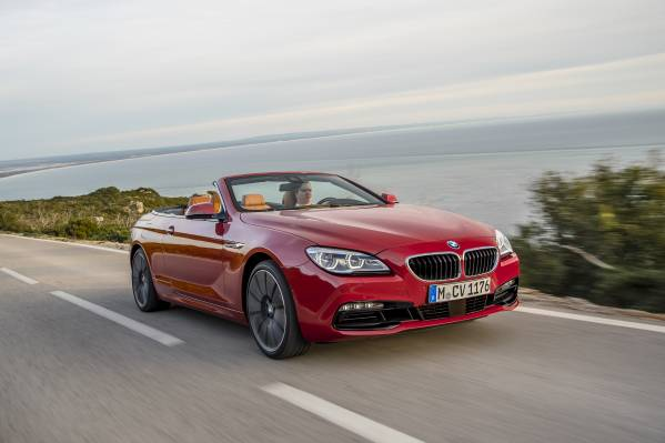 2016 BMW 6 Series Driving 3