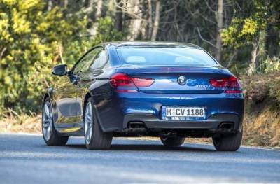 2016 BMW 6 Series Exterior Back