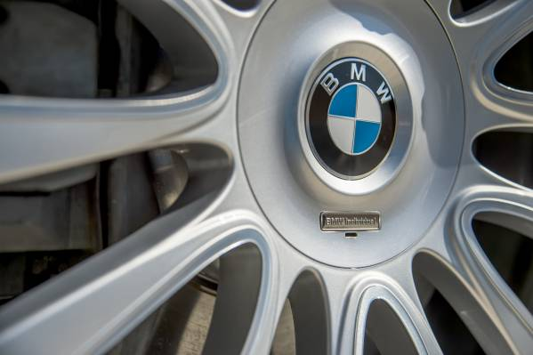 2016 BMW 6 Series Wheel Logo