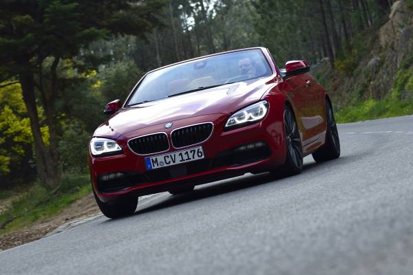 2016 BMW 6 Series driving