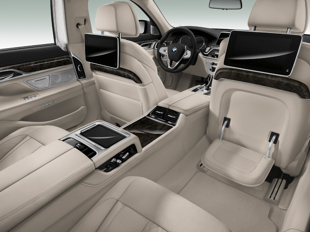 2016 Bmw 7 Series Interior The News Wheel