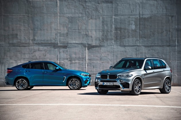 2016 BMW X5 M and BMW X6 M (2)