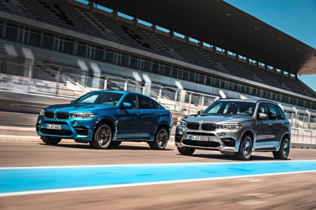 2016 BMW X5 M and BMW X6 M (5)
