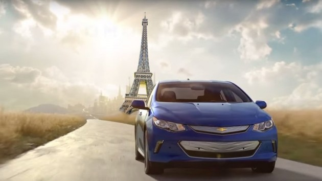 2016 Chevy Volt in France European petition