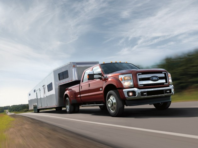 2016 Ford F-Series Super Duty overview