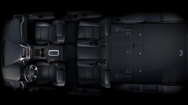 2016 GMC Yukon XL Interior