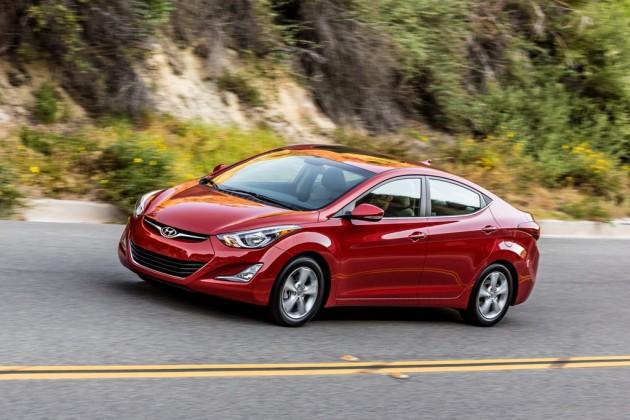 2016 Hyundai Elantra Sedan overview