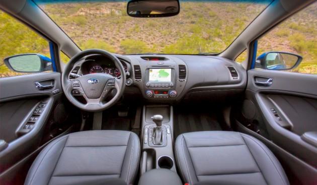 2016 Kia Forte Dashboard Design