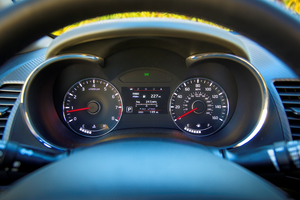 2016 kia forte speedometer the news wheel