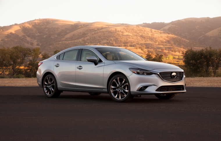 2016 Mazda6 in the desert