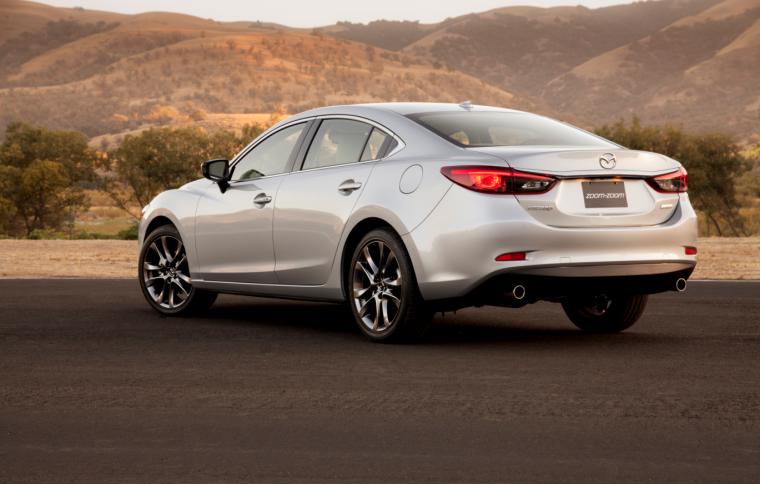 2016 Mazda6 rear