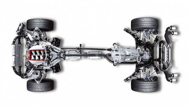 2016 Nissan GT-R suspension