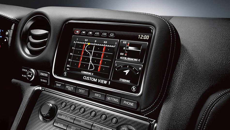 2016 Nissan Gt R Touchscreen The News Wheel