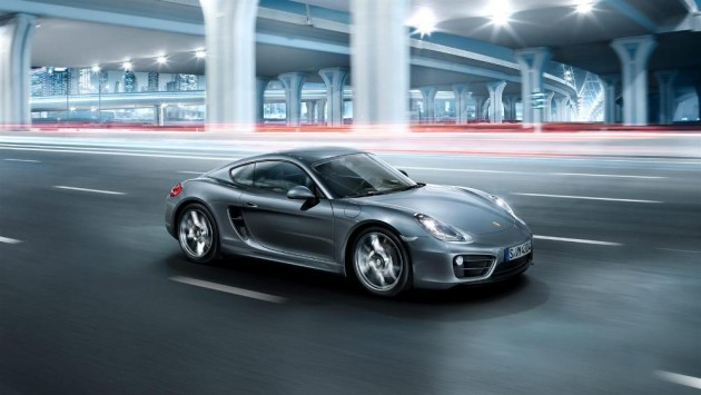 2016 Porsche Cayman Overview