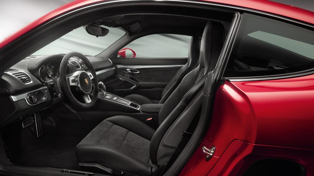 2016 porsche cayman gts interior the news wheel. Black Bedroom Furniture Sets. Home Design Ideas