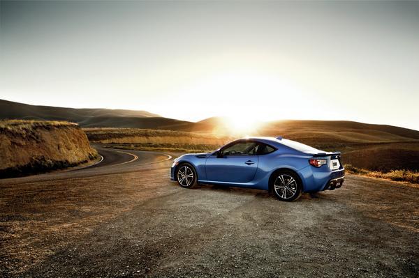 2016 Subaru BRZ overview