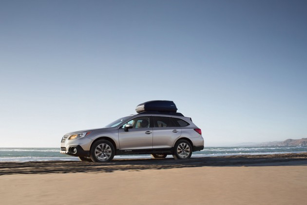 Dependable vehicles like the 2016 Outback won Subaru a slew of awards