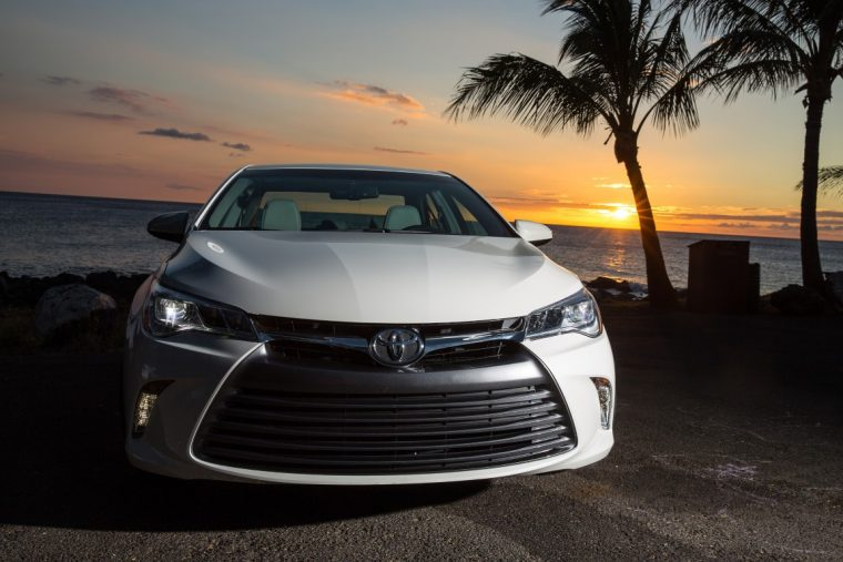 2016 Toyota Camry promoting strong Toyota sales