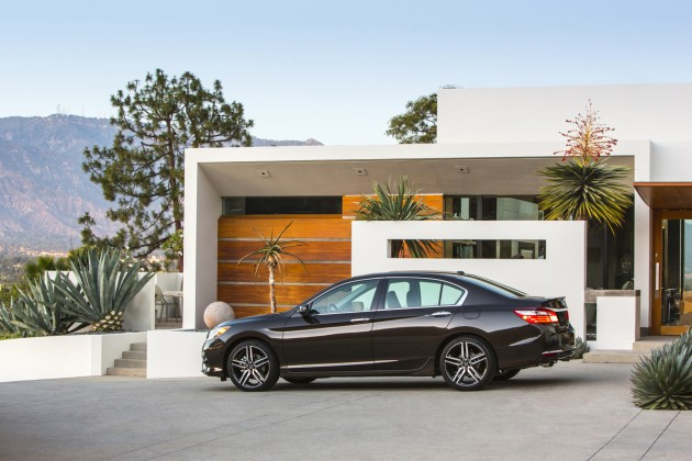 The refreshed 2016 Honda Accord