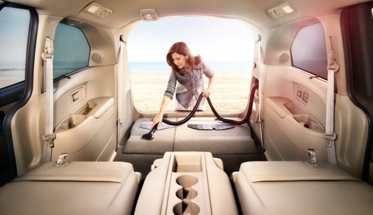 2016 Honda Odyssey Touring Elite HondaVAC vacuum cleaner