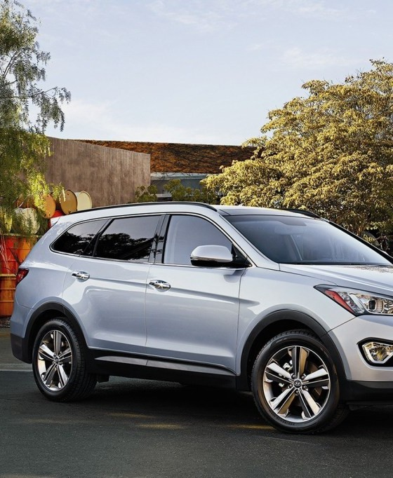 2016 hyundai santa fe suv overview the news wheel. Black Bedroom Furniture Sets. Home Design Ideas