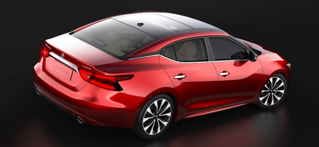 2016 Nissan Maxima Rear Above