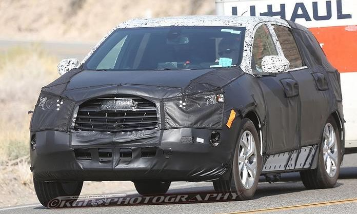 Chevy Equinox Towing Capacity >> Spy Shots Reveal Chevy Equinox Details - The News Wheel