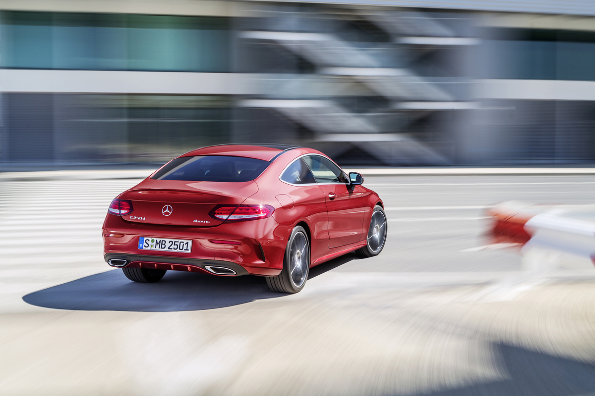 2017 mercedes benz c class coupe the news wheel for Mercedes benz c class rims
