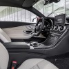 The interior of the 2017 Mercedes-Benz C-Class Coupe
