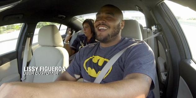 AJ Francis NFL Player Uber Driver
