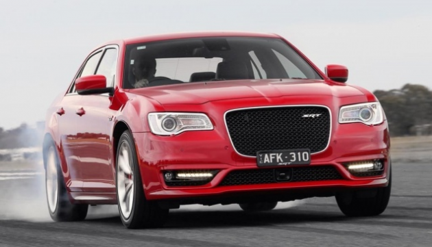Australian Chrysler 300 SRT