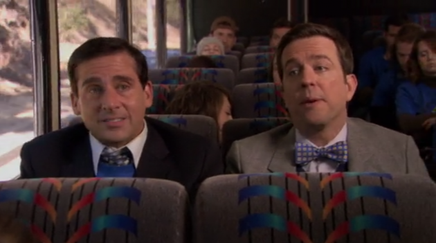 The Office - Christening - Bus