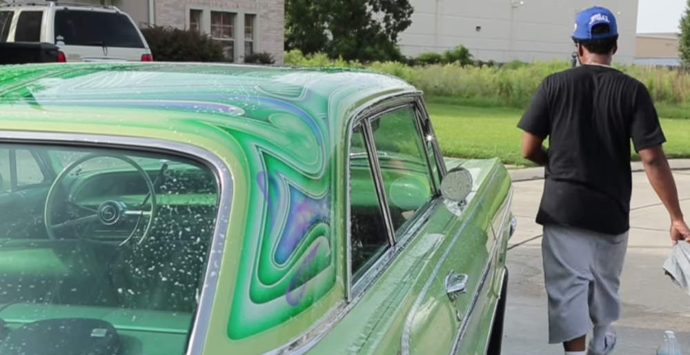 New Orleans Rapper Curren$y Shows Off His Custom Painted ...