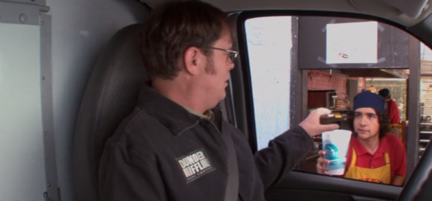 The Office - Customer Loyalty - Drive-Through