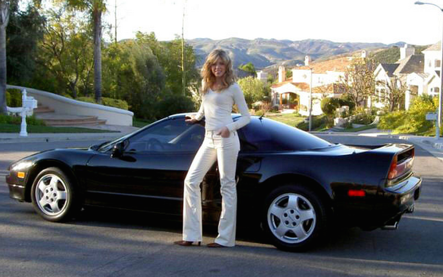 Donald Trump S Ex Wife Marla Maples 1992 Acura Nsx The
