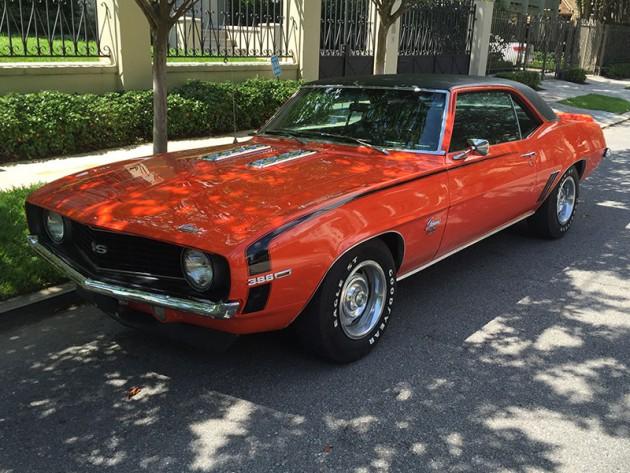 Drew Brees' 1969 Chevy Camaro