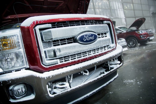 Ford Cold Weather Testing