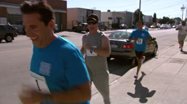 The Office - Fun Run - In a Car