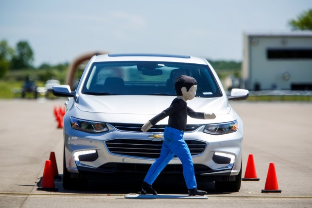 GM Chevrolet Safety Test