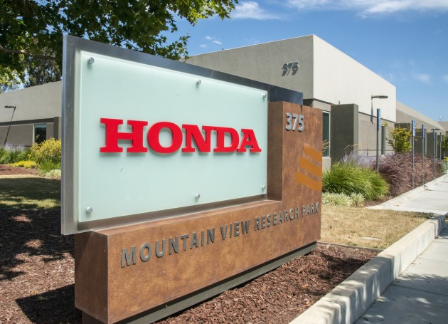 The 35,000 sq ft Honda Silicon Valley R&D facility is location in Mountain View, CA.
