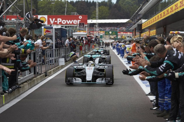 All in all, this year's Belgian Grand Prix was rather predictable, with a Hamilton-Rosberg one-two finish